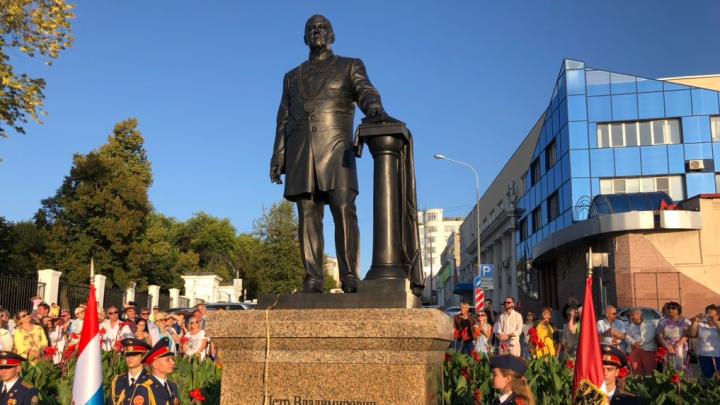 Построил водопровод и набережную: в Самаре открыли памятник городскому голове Петру Алабину