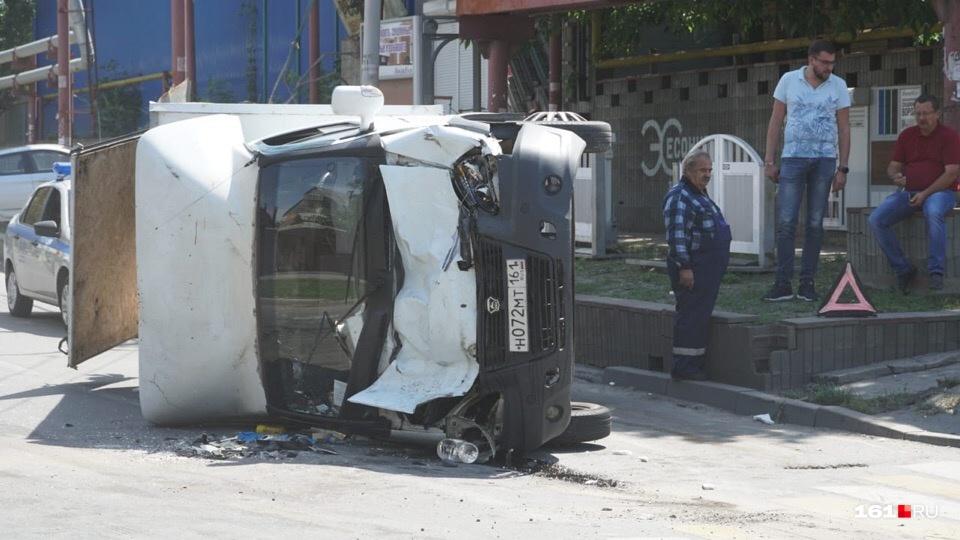 Дорожные инспекторы пока не комментируют эту аварию