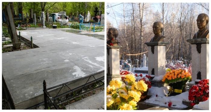 Площадку под новый мемориал лидерам ОПС уже залили