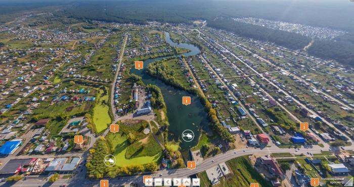 Посетителям сайта предлагают перед экскурсией посмотреть сверху на монетный двор и медеплавильный завод