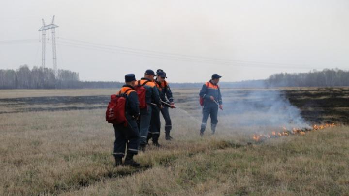 Курганские паблики в соцсетях опять полны фото пожаров. В ГУ МЧС прокомментировали сообщения
