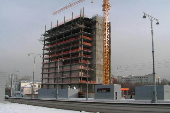 Отель начали строить в прошлом году