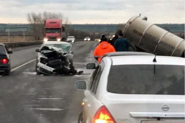Пассажир иномарки получил смертельные травмы