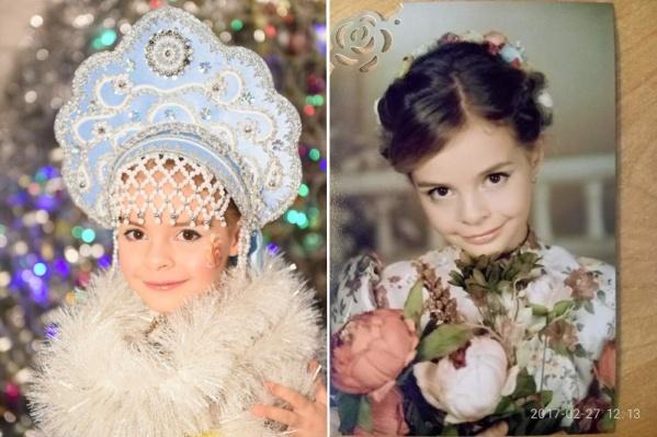 Кате Кочергиной 10 лет
