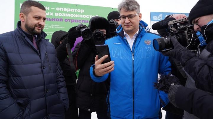 Запуск беспилотного КАМАЗав Кузбассе обсудили в рамках телемоста 5G