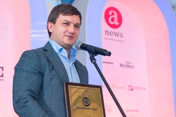 Генеральный директор ВСК Олег Овсяницкий поблагодарил за уже третью награду компании