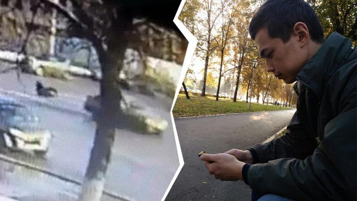 «Дал по газам и скрылся»: 20-летний уфимец ищет водителя, который сбил его на переходе