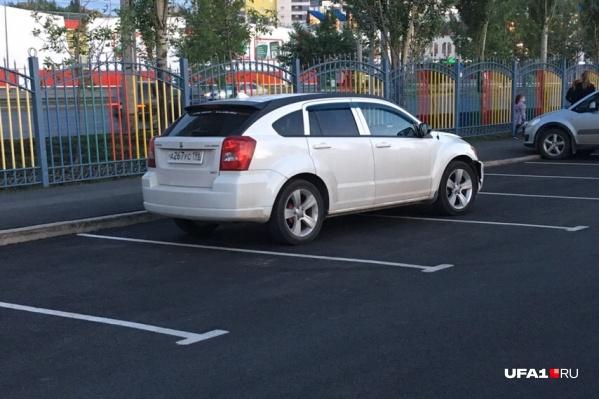 Хорошему автомобилю одного места всегда мало