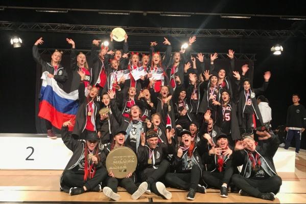 Красноярские танцоры забрали все первые места на чемпионате мира