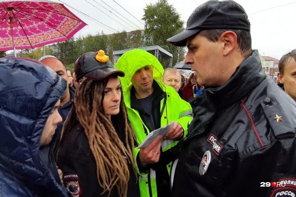 Елену Фокину задержали за участие в несогласованных митинге и шествии 7 апреля