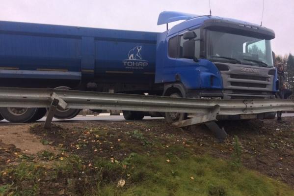 ДТП произошло на переславской окружной дороге