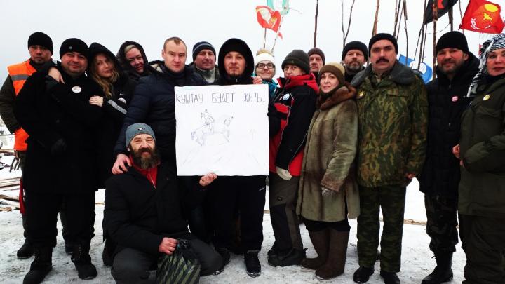 Защитники станции в Архангельской области выступили за сохранение шихана Куштау