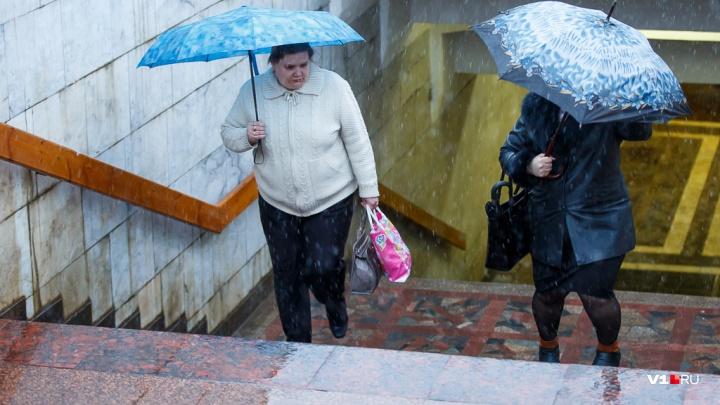 В Волгоградской области объявлено предупреждение о сильном ветре, снеге и морозах до-10 ºС