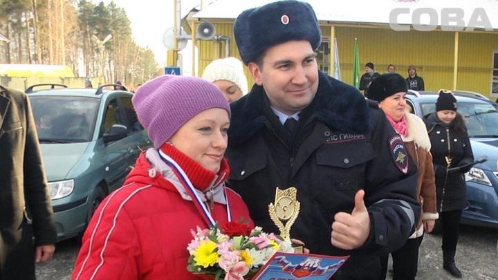 В Екатеринбурге выбрали женщину, которая лучше всех водит машину
