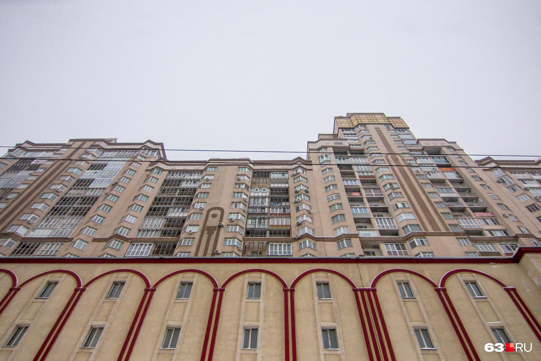 ЖК растянулся вдоль Московского шоссе на 300 метров