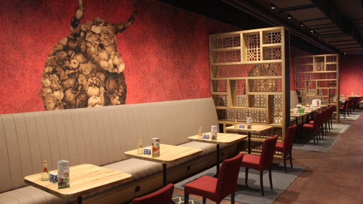 На месте столовой в центре открылся ресторан узбекской кухни