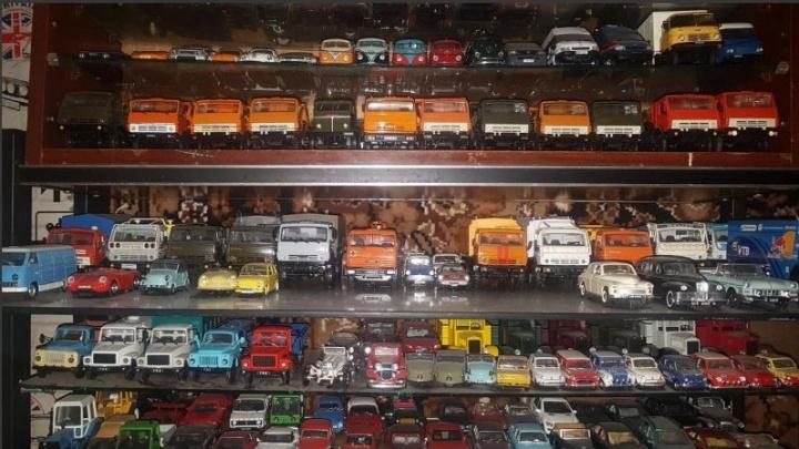 Красноярец продает коллекцию из почти тысячи моделек авто за 850 тысяч