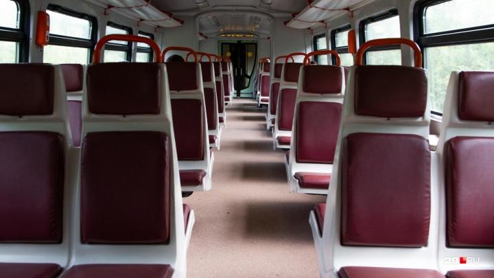 «Для туристов?»: по какому расписанию ходят рельсовые автобусы из Архангельска в Северодвинск