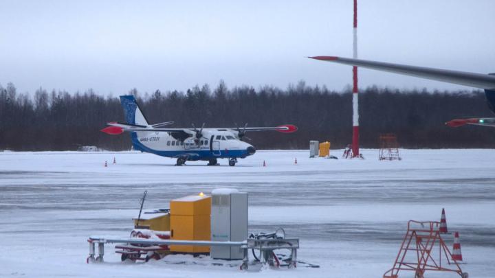 С января самолеты на Соловки буду летать из аэропорта Архангельск