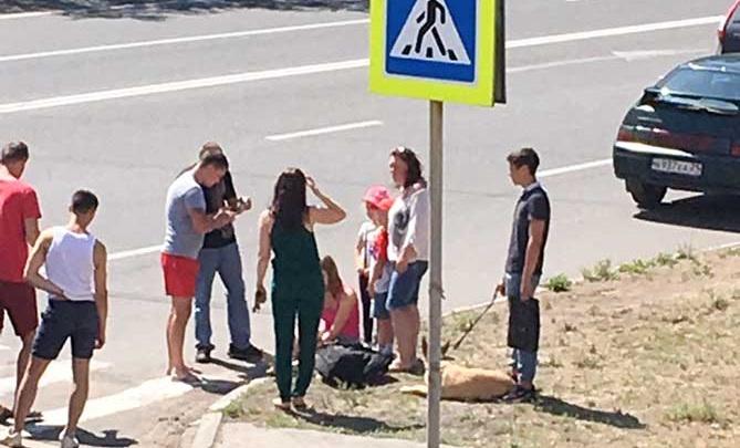 В Тольятти водитель «четырнадцатой» сбил маму с двумя детьми