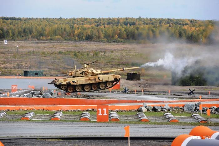 На УВЗ отказываются говорить, танк какой модели утонул