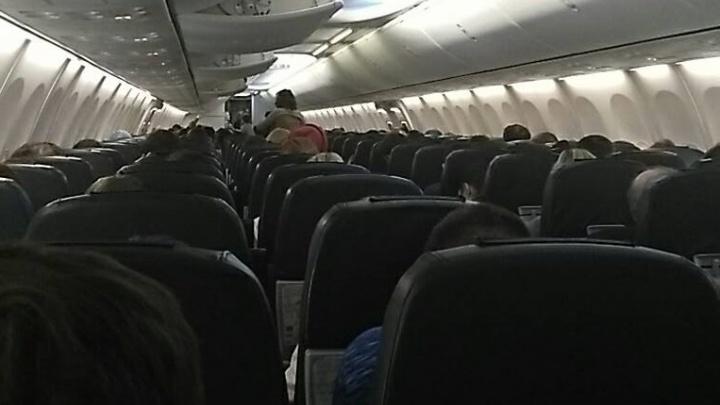Из-за снегопада в Москве самолёт из Екатеринбурга не смог приземлиться во Внуково