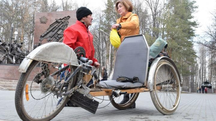 Инвалид-колясочник завершил одиночный пробег из Уфы до Астаны