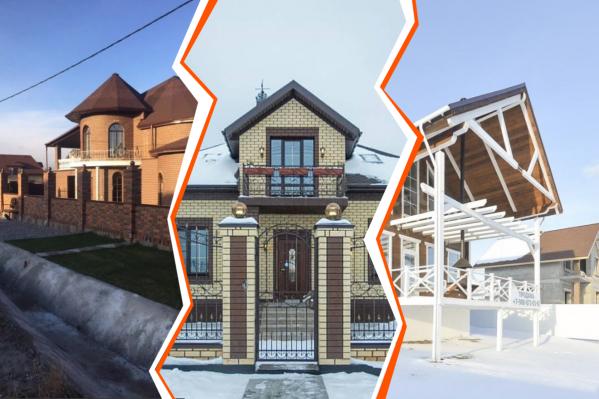 Эти дома выделяются следи многоэтажных коттеджей. Мы узнали, сколько они стоят