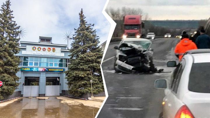 В ДТП со «Шкодой» и бензовозом под Самарой погиб замдиректора РКЦ «Прогресс» Вадим Небога