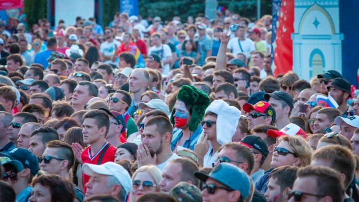 Один из самых шумных: фестиваль болельщиков в Ростове в цифрах