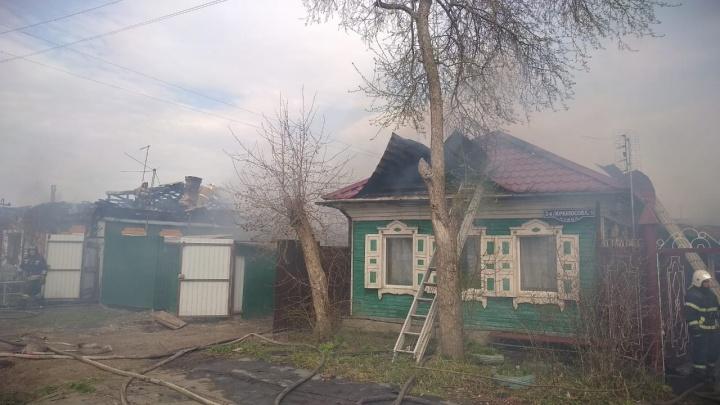 В частном доме на Телевизионке взорвался газовый баллон