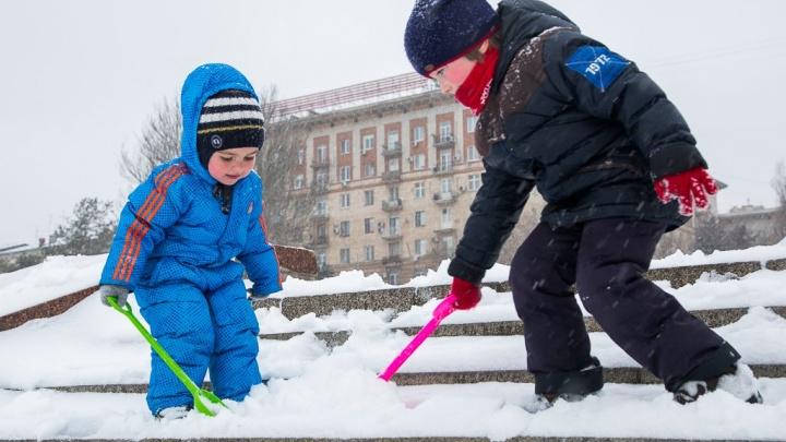 В Волгограде 20 ноября выпадет мокрый снег