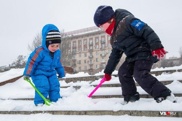 В Волгограде днём ожидается плюсовая температура