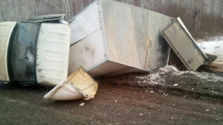 Шестеро пострадавших: на трассе М-5 в Челябинской области «Газель» столкнулась с «Ладой»