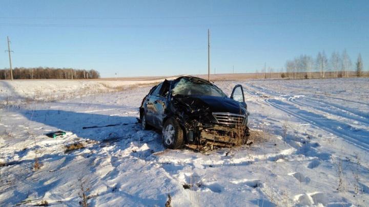 Водитель из Башкирии погиб в ДТП на трассе в Оренбургской области