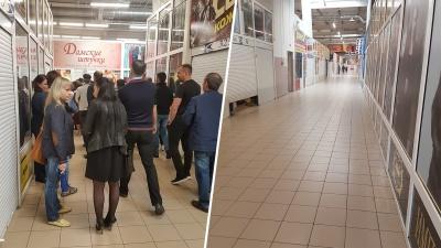 В Ярославле владельцы магазинов в крупном торговом центре вышли на забастовку