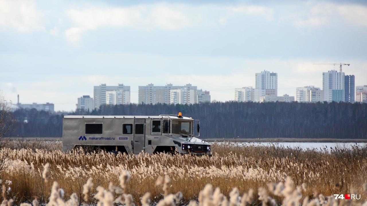 Испытательный полигон находится в прямой видимости от Екатеринбурга