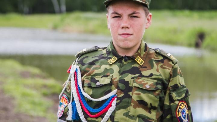 14-летний кадет спас мальчика, который тонул в котловане