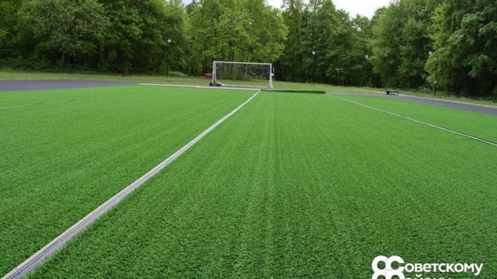В Уфе появится огромное футбольное поле