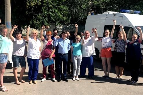 Работники тольяттинской скорой начали борьбу за свои права