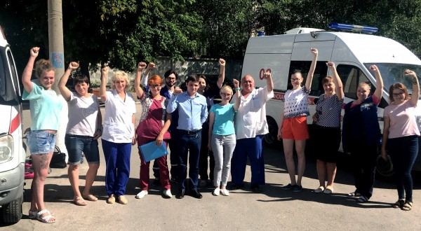 В Самарской области сотрудники скорой помощи объявили об «итальянской забастовке»
