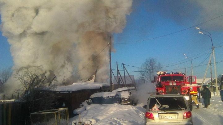 Стала известна причина пожара в Тобольске, где погибла 77-летняя пенсионерка