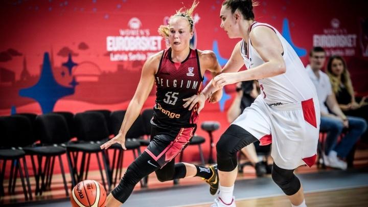 Россиянки проиграли первый матч Евробаскета бельгийкам, за которых играет центровая УГМК