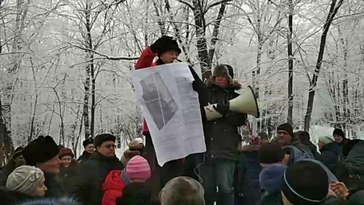 «Мы готовы пронумеровать деревья!»: самарцы выступили за сохранение парка 60-летия Советской власти