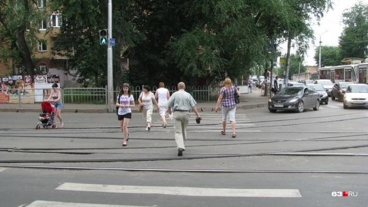 В Самаре отремонтируют дороги у трамвайных путей