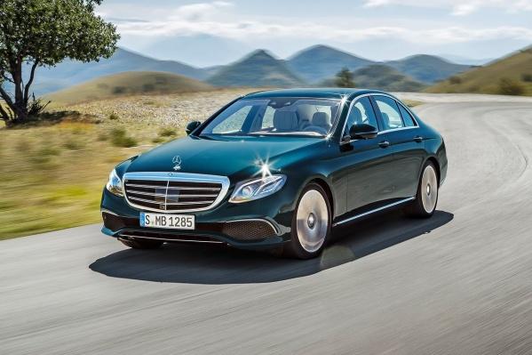 Mercedes-Benz Е-класс — самая популярная модель в России