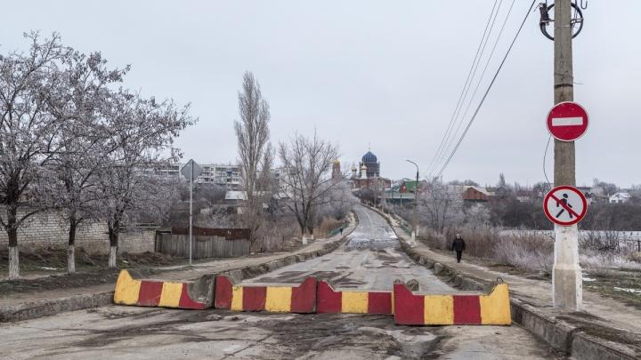 И года не прошло: на закрытый мост через Мечетку в Городище нашли деньги