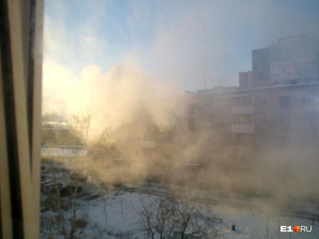 Вжилом доме вВерхней Пышме произошел взрыв