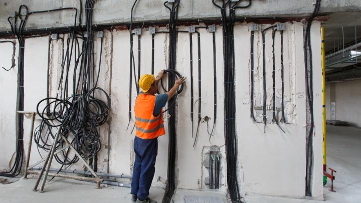 Монтажника, укравшего с «Волгоград Арены» медный кабель, отправили на два года в колонию