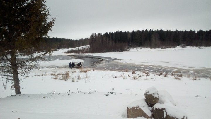 Несколько деревень Холмогорского района оказались изолированы из-за затопленных дорог